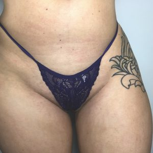 Lace Purple G-String